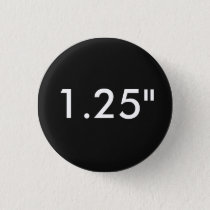 "Custom Print 1.25"" Small Round Button Template"