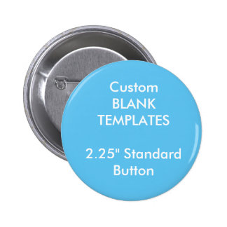 "Custom Print 2.25"" Small Button Pin Blank Template"