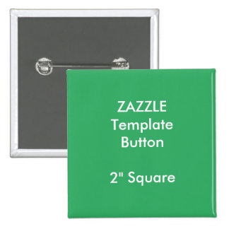 "Custom Print 2"" Square Button Blank Template"