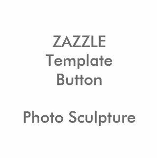 Custom Print Photo Sculpture Button Blank Template