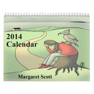 Custom Printed 2014 Calendar