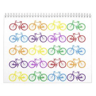 Custom Printed Bike lover's Calendar