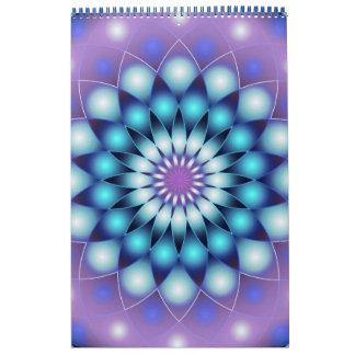 Custom Printed Calendar 2014 Mandala