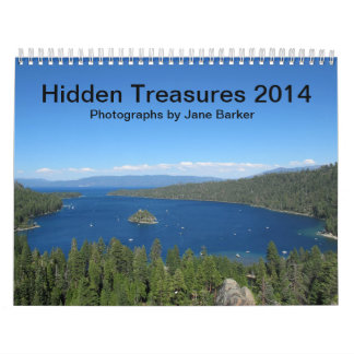 Custom Printed Calendar - Hidden Treasures 2014