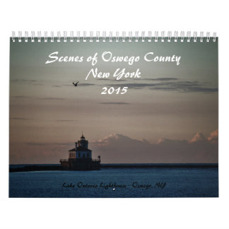 Custom Printed Calendar Scenes of Oswego County
