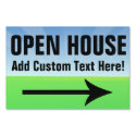 Custom Printed Open House Yard Sign