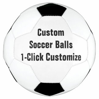 Custom Printed Personalized Soccer Ball