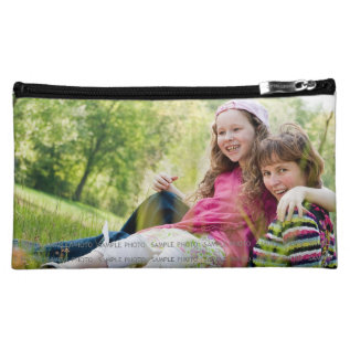 Custom Printed Photo Makeup Bags M Custom Picture at Zazzle