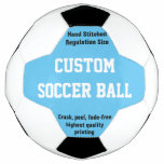 Custom Printed Soccer Ball to personalize