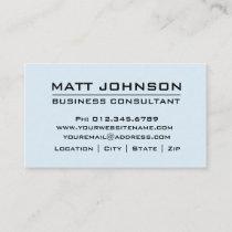 Custom Professional Blue Modern Business Card