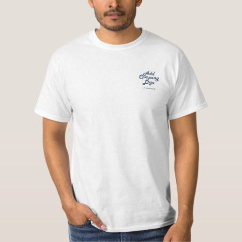 Custom Professional Company Logo Corporate Uniform T_Shirt