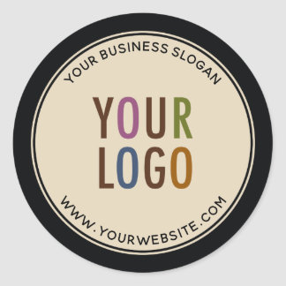 Custom Promotional Business Stickers Company Logo