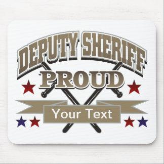 Custom Proud Deputy Sheriff Mouse Pad