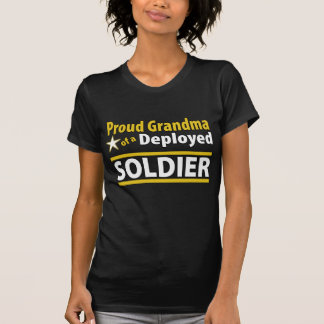 Custom Proud Grandma of a Deployed Soldier Shirt