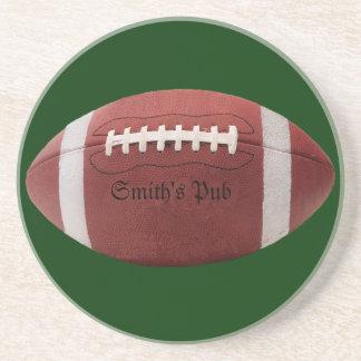Custom Pub Football Drinks Coaster
