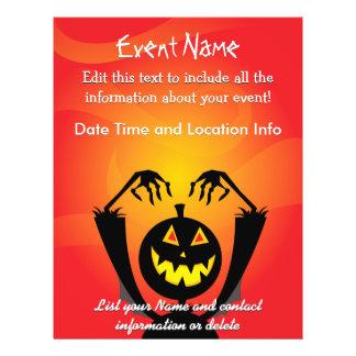 Custom Pumpkin Scarecrow Flyer
