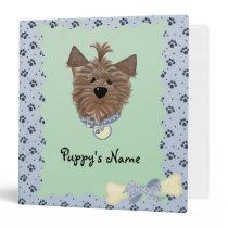 Custom Puppy Dog Photo Binder Scrapbook