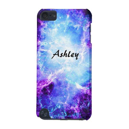 best cheap 6aeeb 95240 Custom Purple Blue Galaxy 5G iPod Touch Case