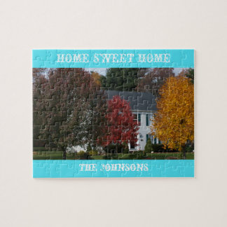 Custom Puzzle of Your House in Tin