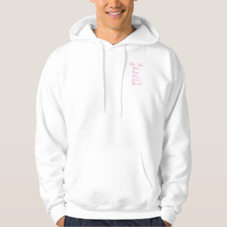 custom race for the cure hoodie