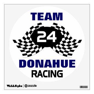 Custom Racing Family Room Sticker