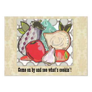 Custom Ratatouille Potluck Cookout - Card