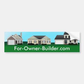 Custom Real Estate Bumper Sticker Car Bumper Sticker