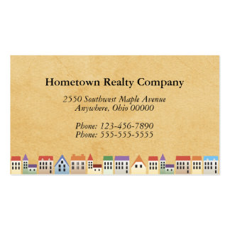 Custom Real Estate Business Cards