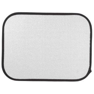 Beach Themed Custom Rear Car Mats (set of 2)