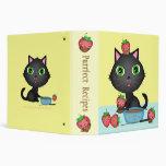Custom Recipe Cat & Strawberry Fondue Binder