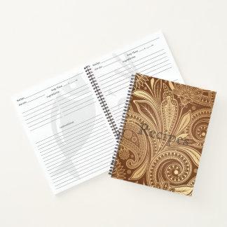 Custom Recipe Notbook-Flora Notebook