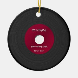 Custom Record Ornament