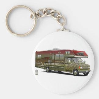 Custom Recreational Vehicle Keychain