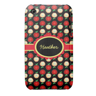 Custom Red Apples Case-Mate iPhone 3G/3GS iPhone 3 Case-Mate Case