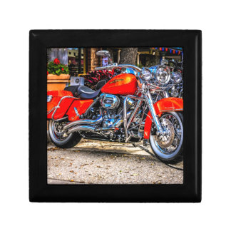 Custom red hog Motorcycle Jewelry Boxes