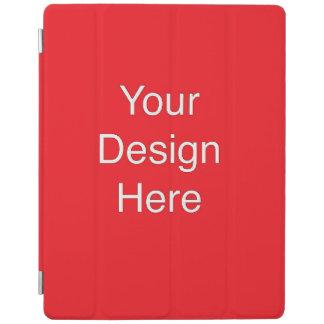 Custom Red iPad cover