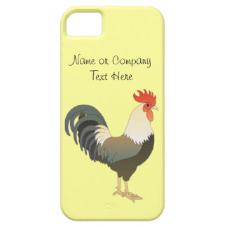 Custom Red Rooster Farm Animal yellow iPhone SE/5/5s Case
