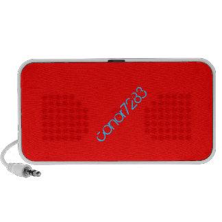 Custom Red Speaker