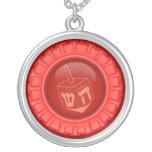 Custom Red symbol necklace