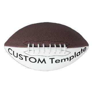 Custom Regulation Size Football