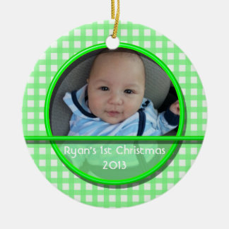 Custom Request Baby's First Christmas Ornament