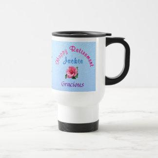 Custom Retirement Gifts for Women Call Linda 15 Oz Stainless Steel Travel Mug