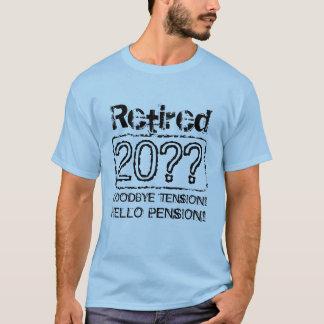 Custom retirement tee shirts for retiring men