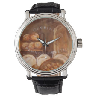 Custom retro BAKERY Relojes De Pulsera