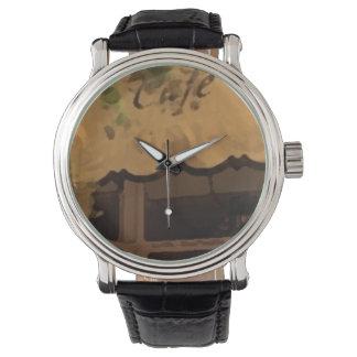 Custom retro COFFE Reloj De Mano