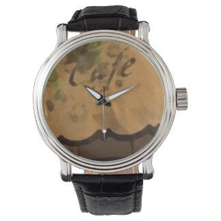 Custom retro COFFE Relojes