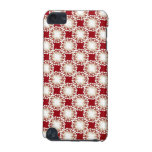 Custom Retro Pattern in Red iPod Touch (5th Generation) Cases
