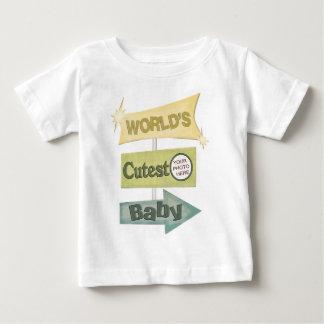 Custom Retro Photo Cute Baby T-shirt