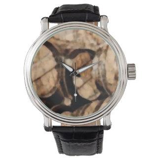 Custom retro wine reloj