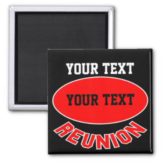 Custom Reunion Items You Can Personalize Fridge Magnets